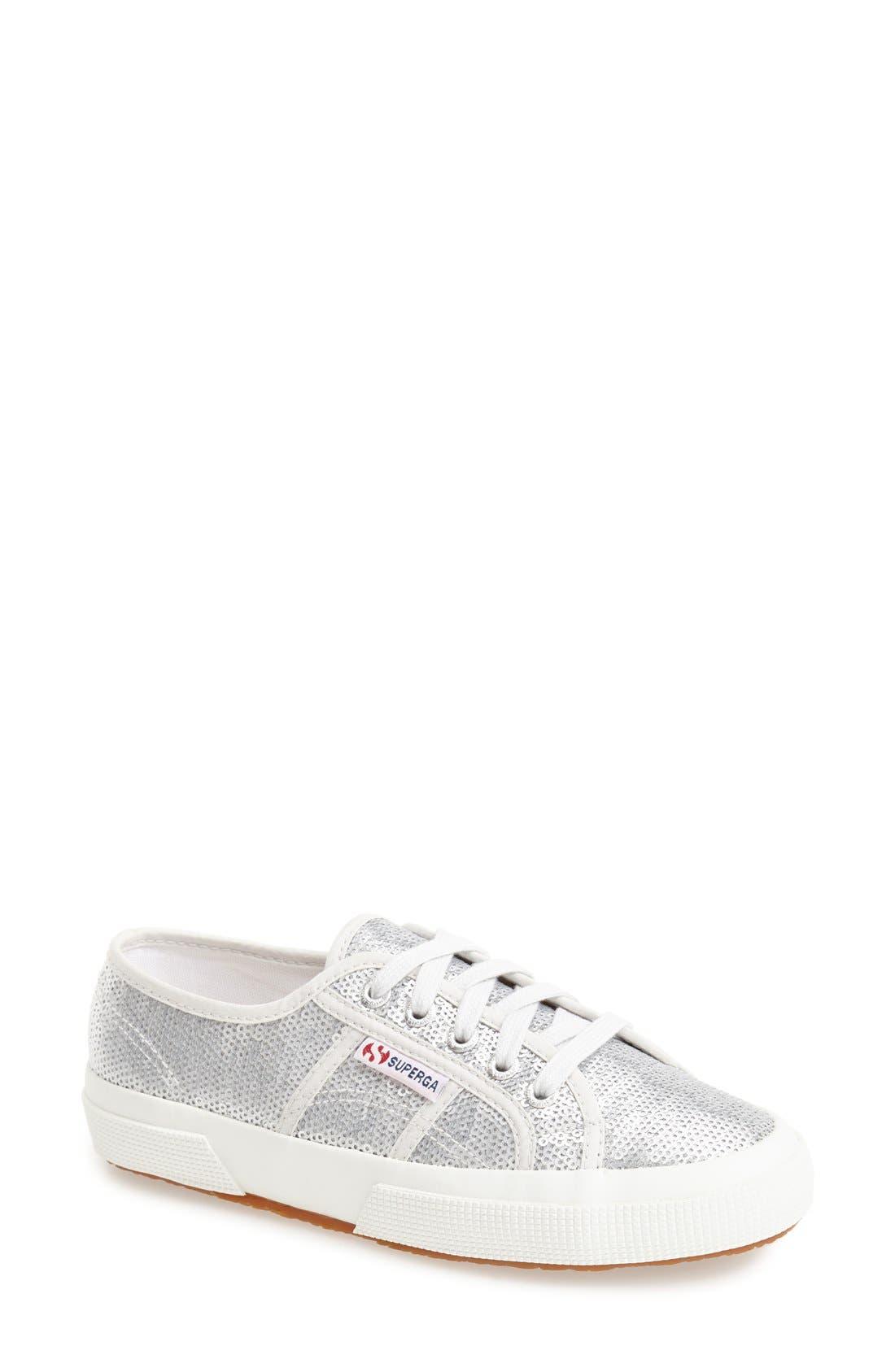 Alternate Image 1 Selected - Superga 'Metallic' Sneaker (Women)