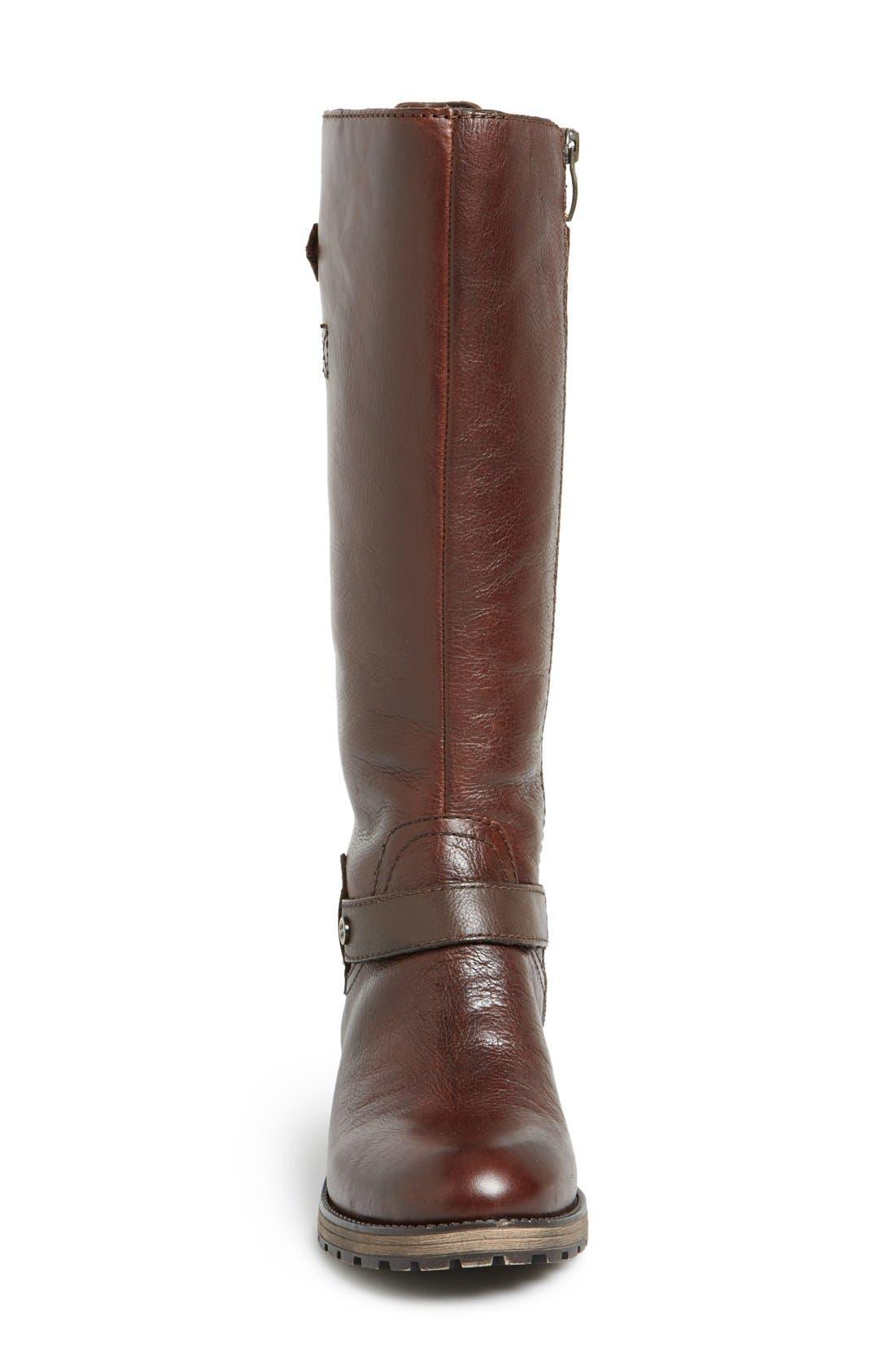 'Tanita' Boot,                             Alternate thumbnail 3, color,                             Tan Leather