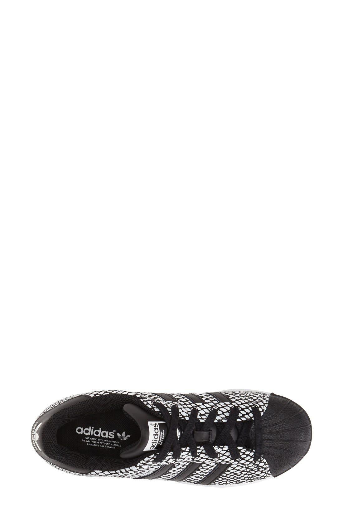 Alternate Image 3  - adidas 'Superstar' Snake Embossed Sneaker (Women)
