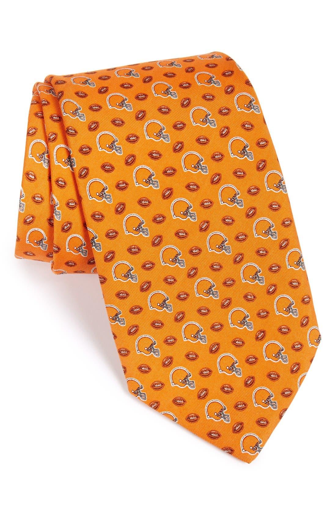 Cleveland Browns - NFL Woven Silk Tie,                         Main,                         color, Orange