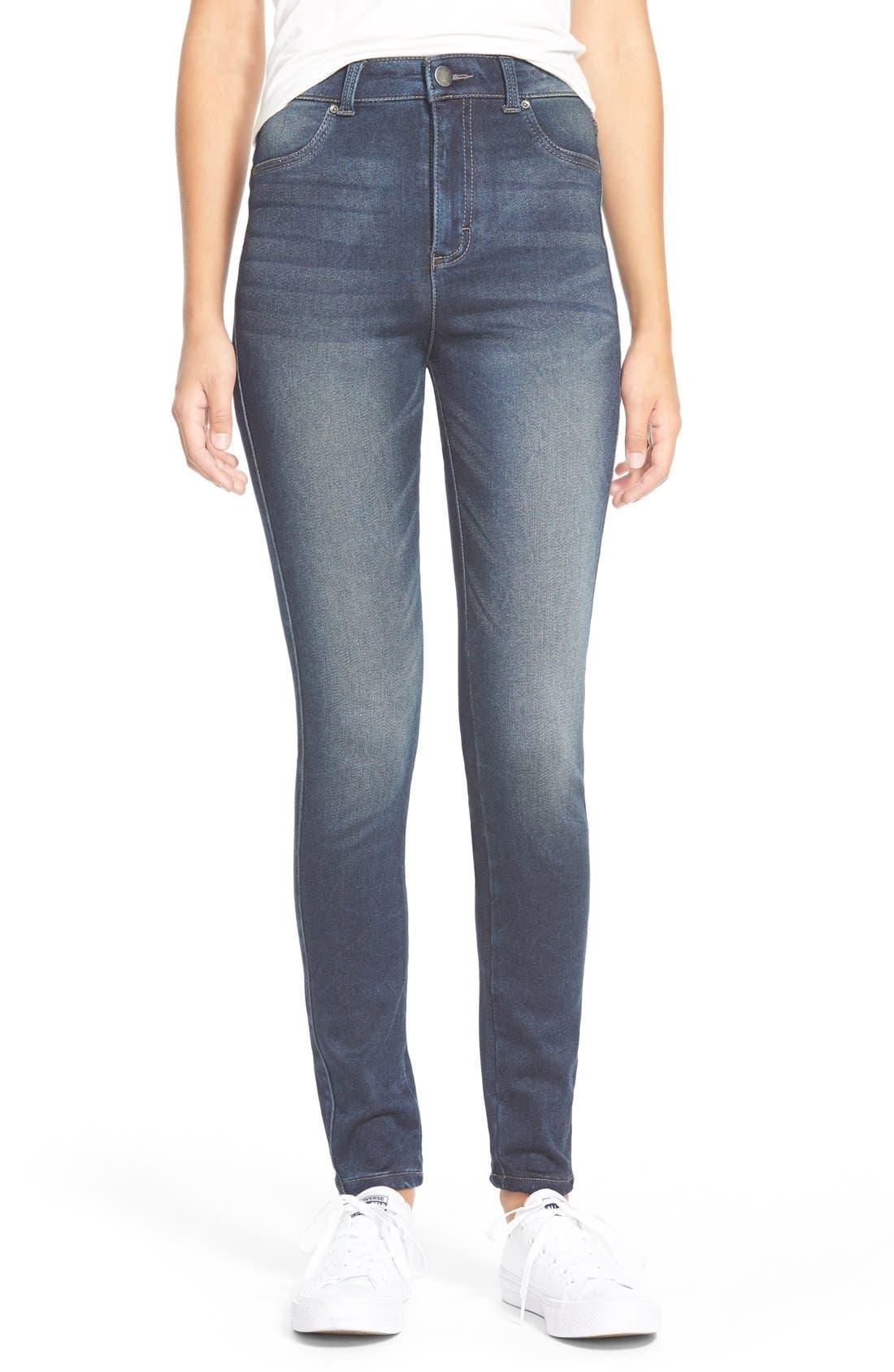 Alternate Image 1 Selected - Generra High Waist Skinny Jeans
