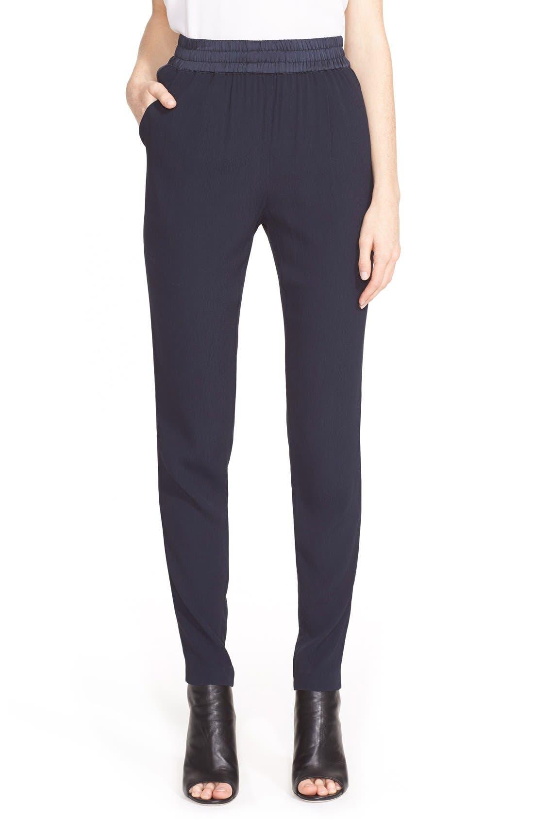 Alternate Image 1 Selected - Rebecca Taylor 'Emma' Side Stripe Pants