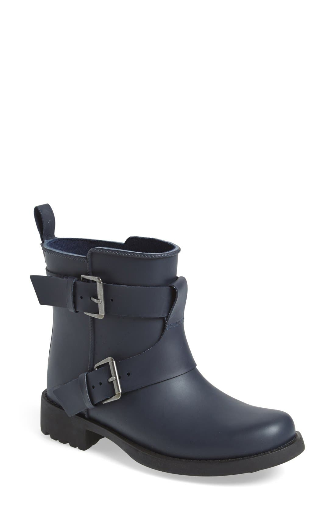 Alternate Image 1 Selected - Gentle Souls 'Best Fun' Moto Rain Boot (Women)