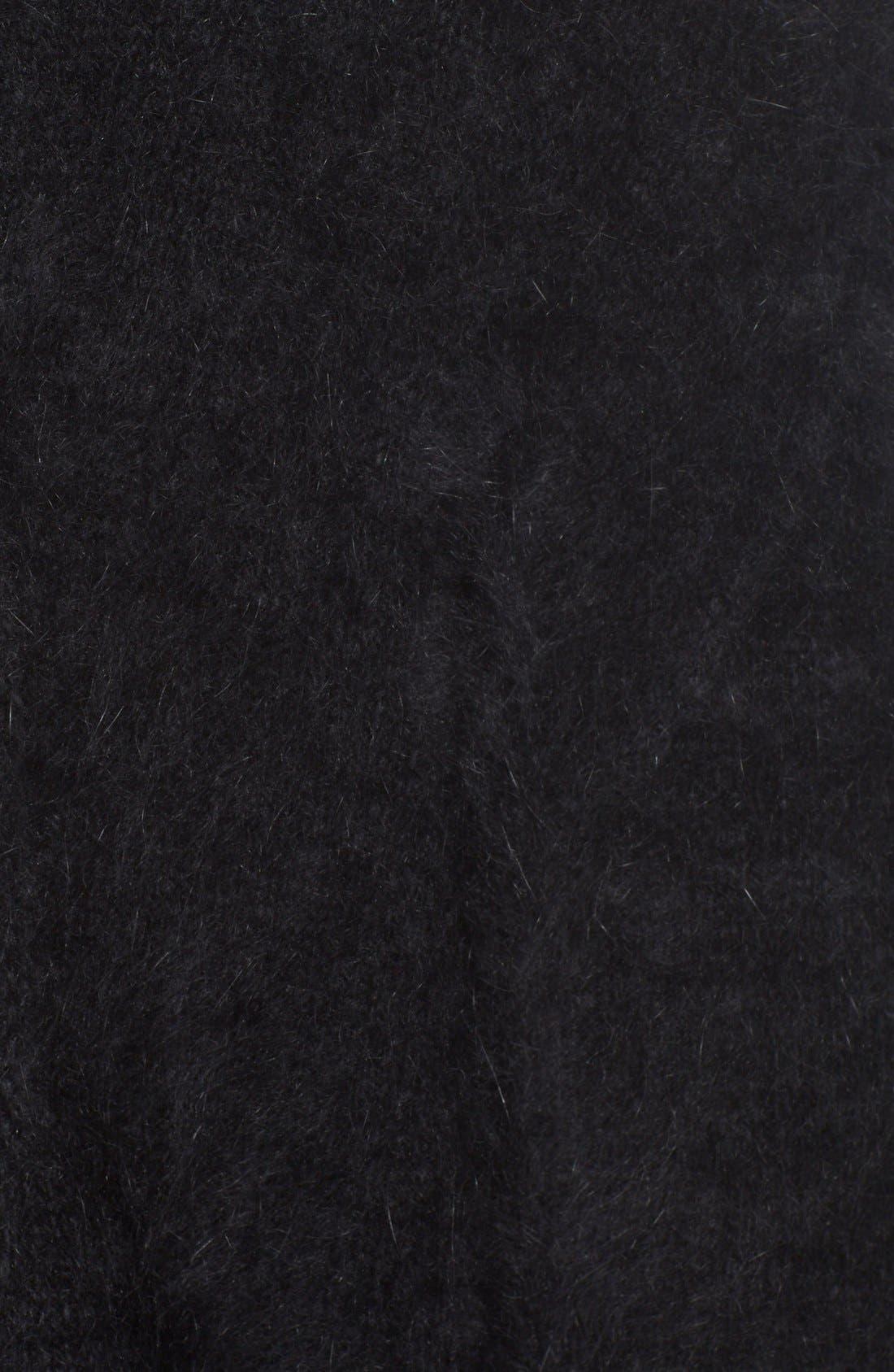 Alternate Image 3  - Vetements Open Back Oversize Angora Blend Sweater