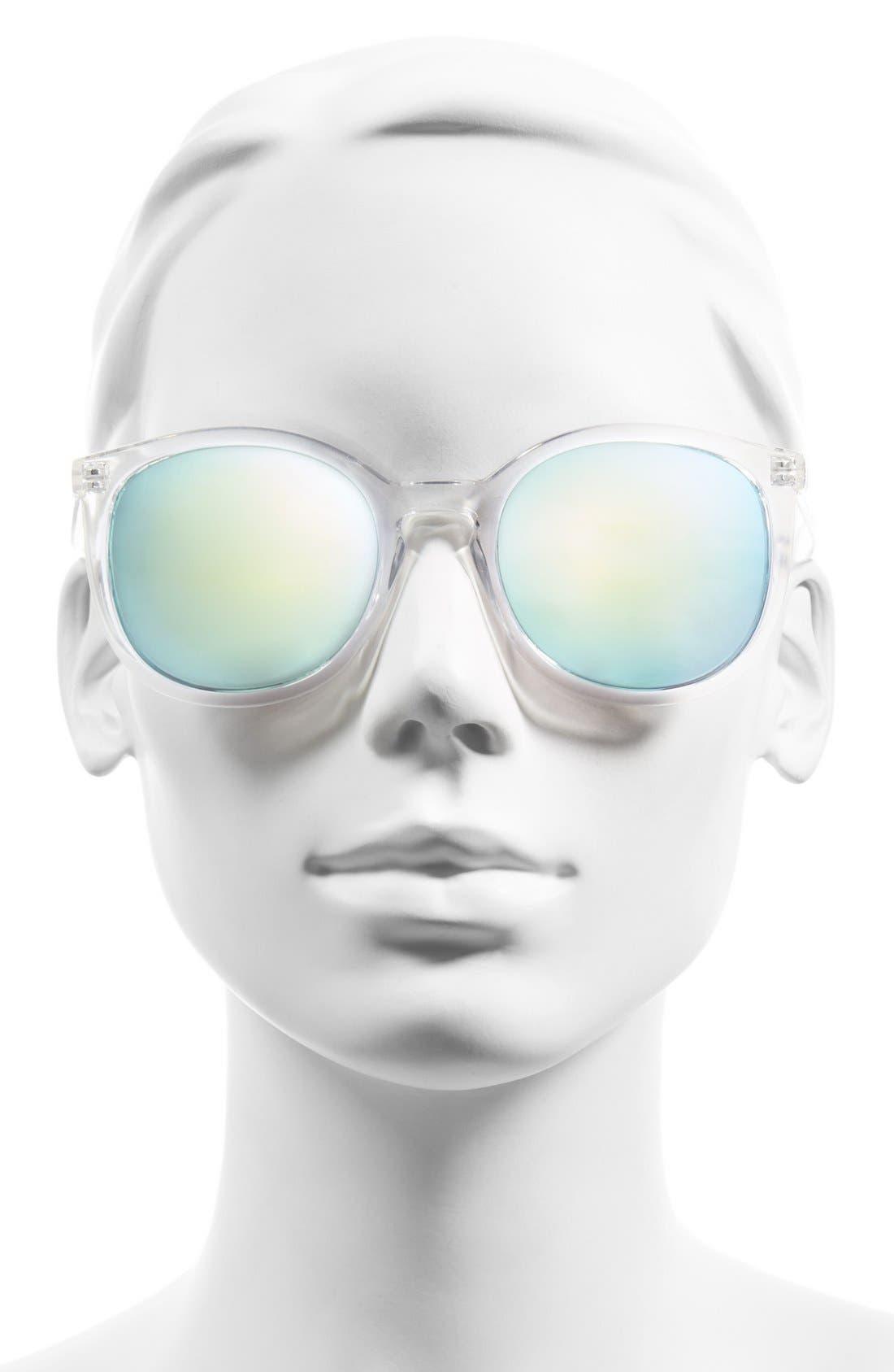 Alternate Image 2  - BP. 52mm Mirrored Cat Eye Sunglasses
