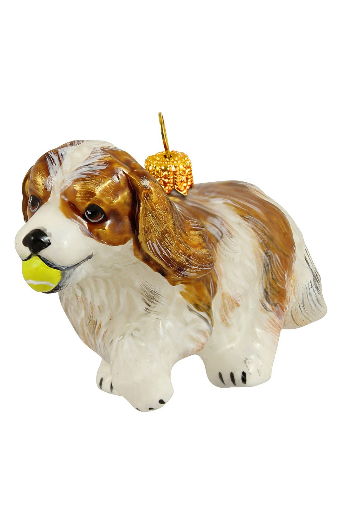 Alternate Image 1 Selected - Joy to the World Collectibles 'Dog with Tennis Ball' Ornament