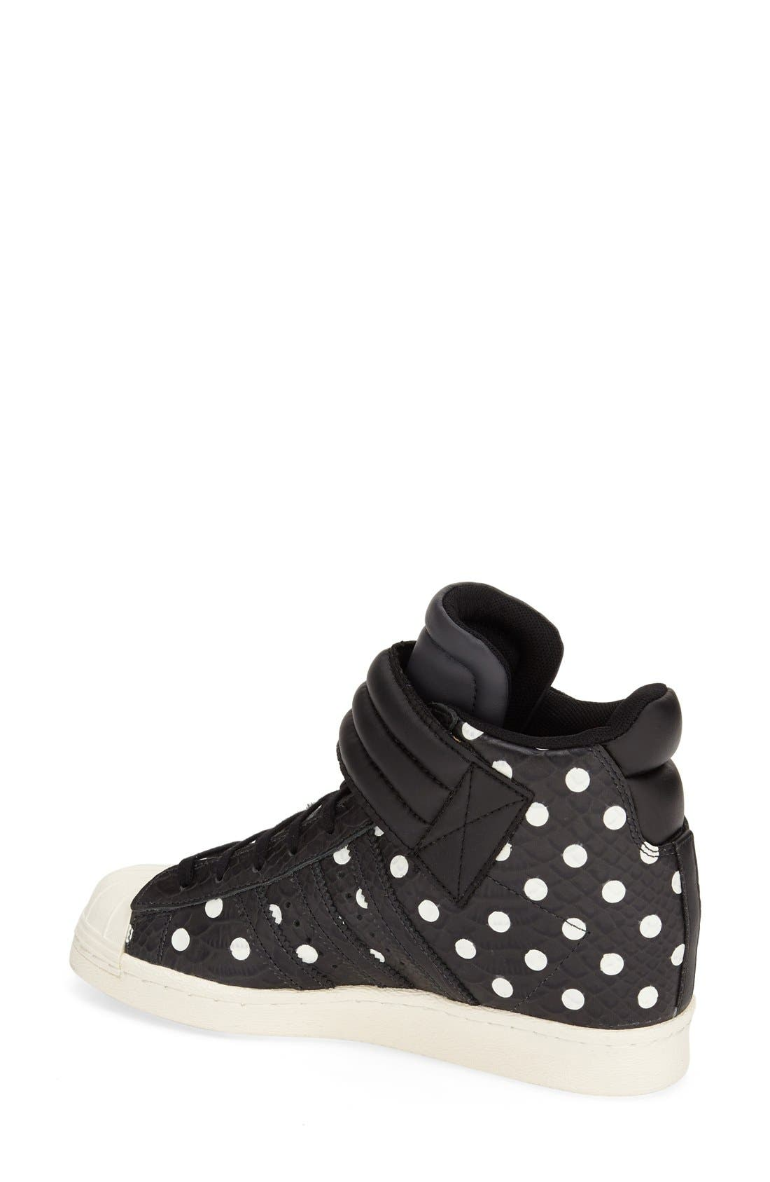 Alternate Image 2  - adidas 'Superstar Up Strap' Hidden Wedge Sneaker (Women)