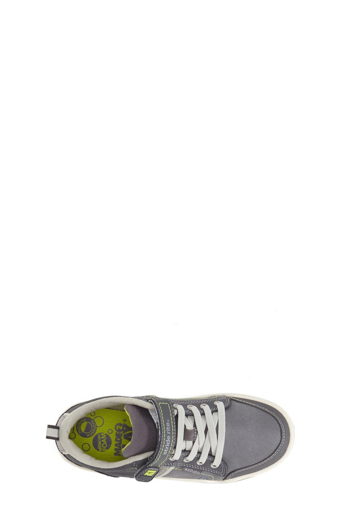 'Made 2 Play<sup>®</sup> Caleb' Sneaker,                             Alternate thumbnail 3, color,                             Grey