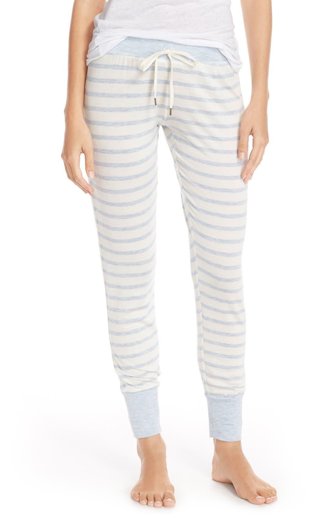 Main Image - Splendid Cuff French Terry Lounge Pants