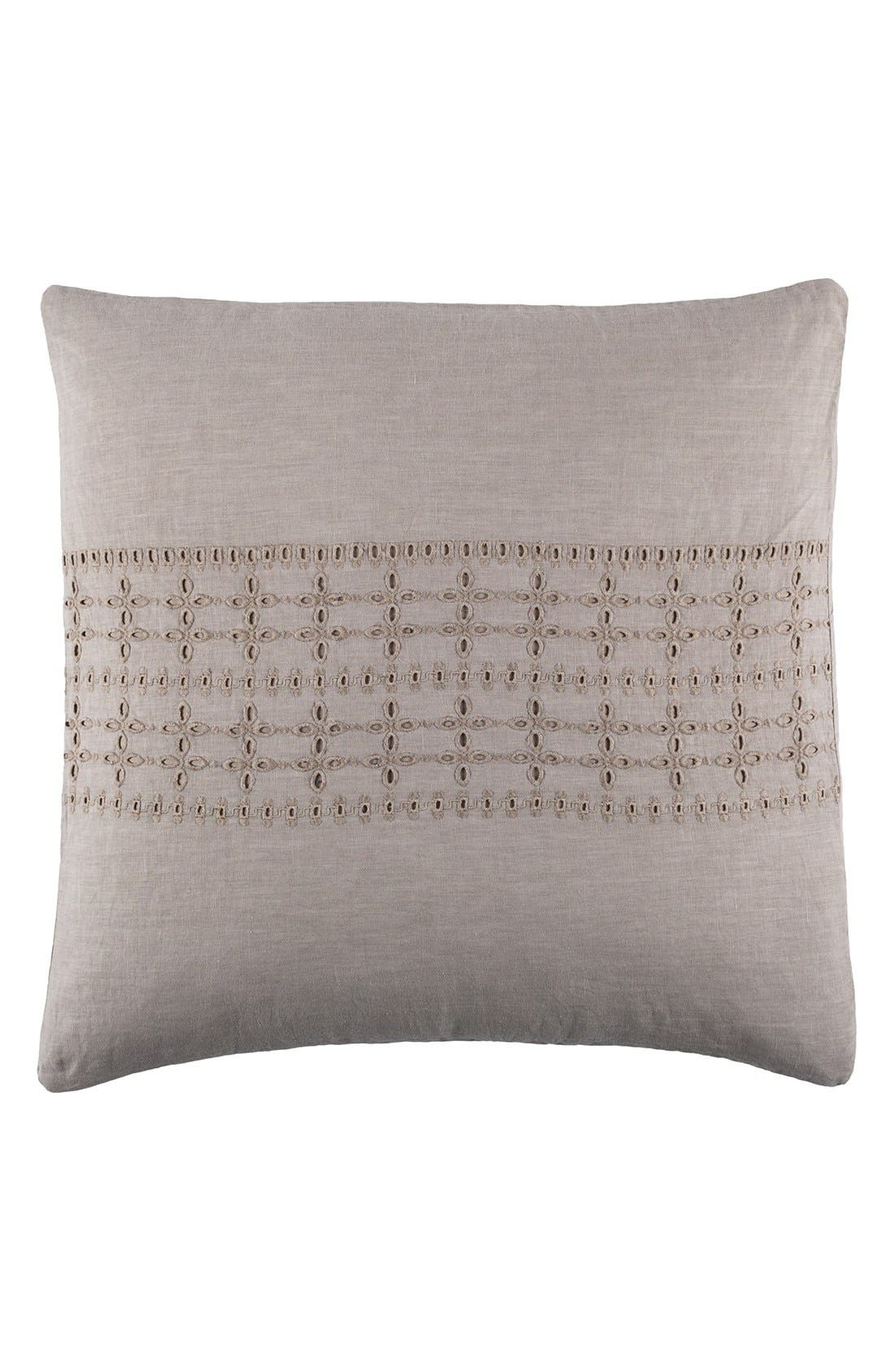 Alternate Image 1 Selected - Pom Pom at Home 'Layla' Linen Euro Sham