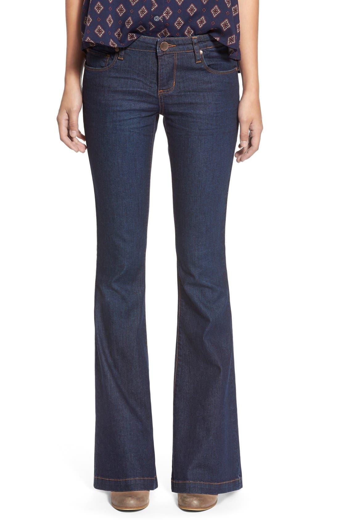 Alternate Image 1 Selected - STSBlue 'Nikki' Flare Leg Skinny Jeans (Napa)