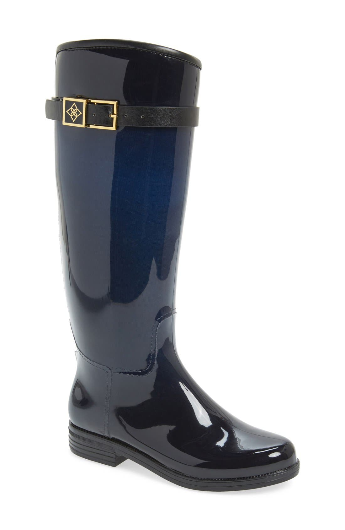 däv 'Bristol' Weatherproof Knee High Rain Boot (Women)