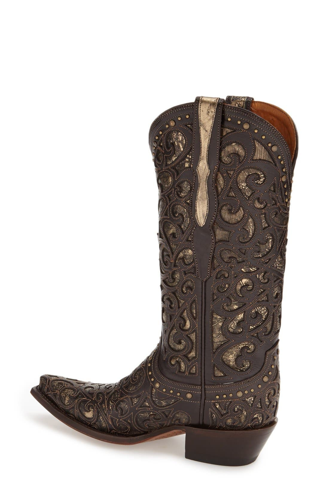 Alternate Image 2  - LuccheseWestern Boot (Women)