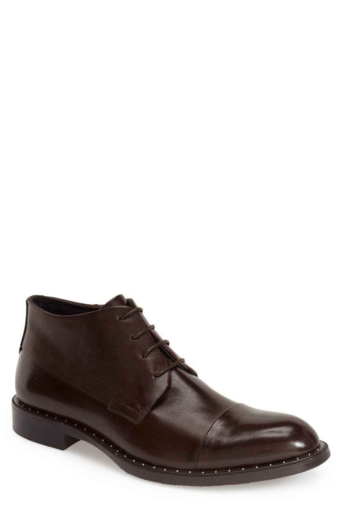Zanzara 'Gela' Zip Cap Toe Chukka Boot (Men)