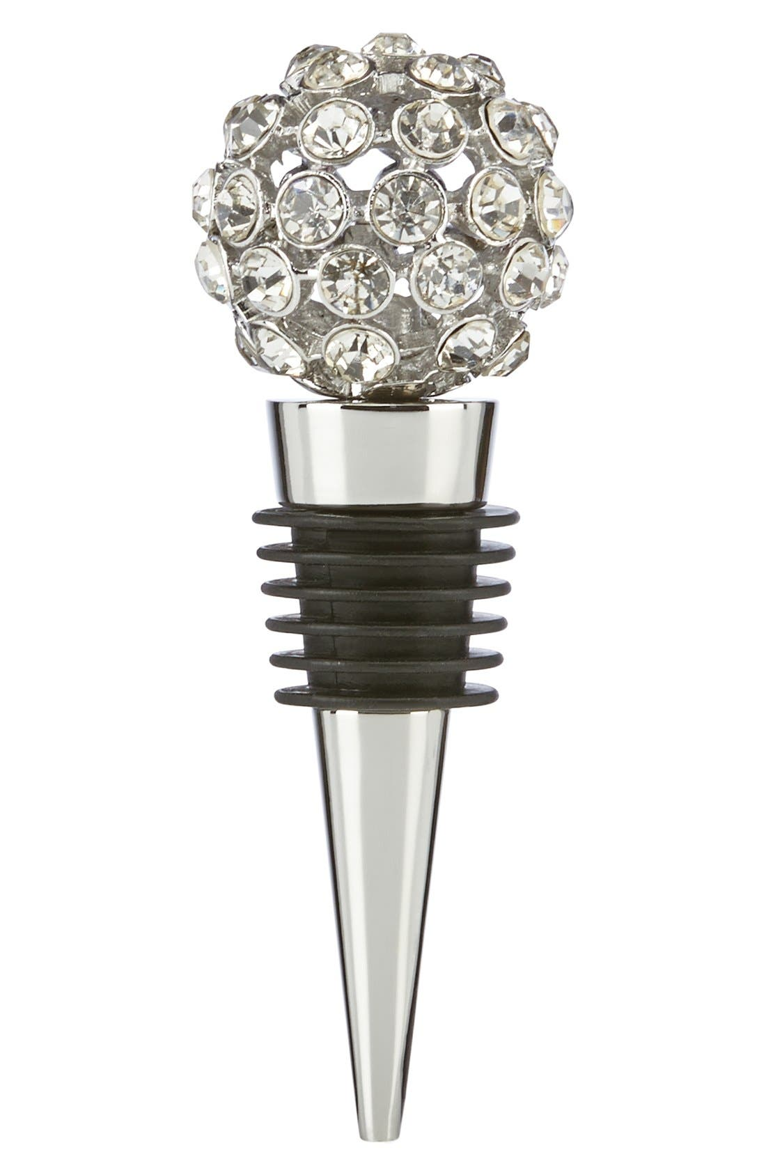 Alternate Image 1 Selected - kate spade new york 'two of a kind' jeweled bottle stopper