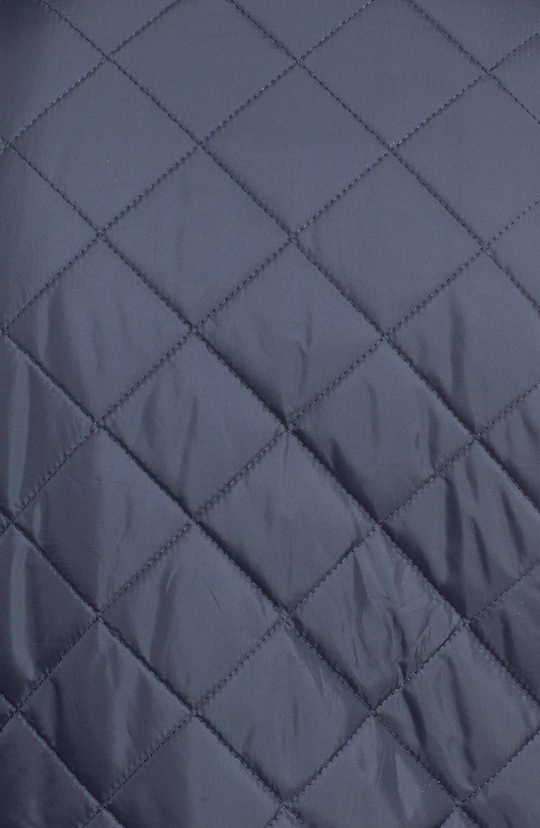 Quilted Jacket,                             Alternate thumbnail 5, color,                             Navy