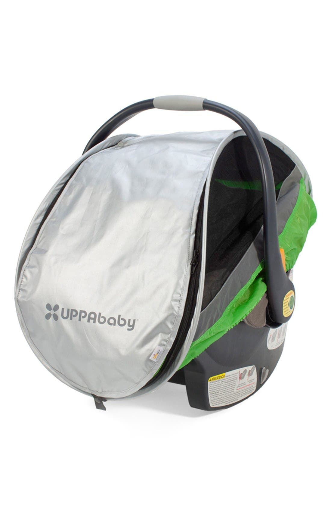 Alternate Image 2  - UPPAbaby 'Cabana' Infant Car Seat All-Weather Shield