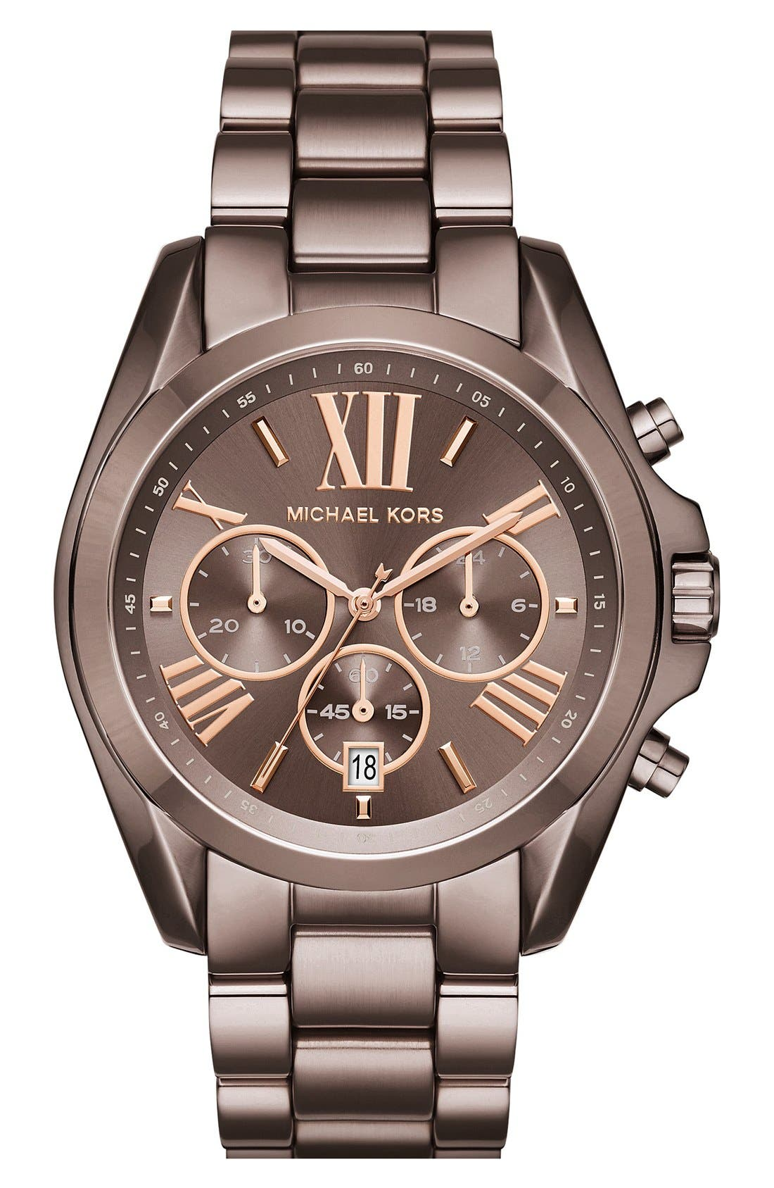 MICHAEL KORS Bradshaw Chronograph Bracelet Watch, 43mm