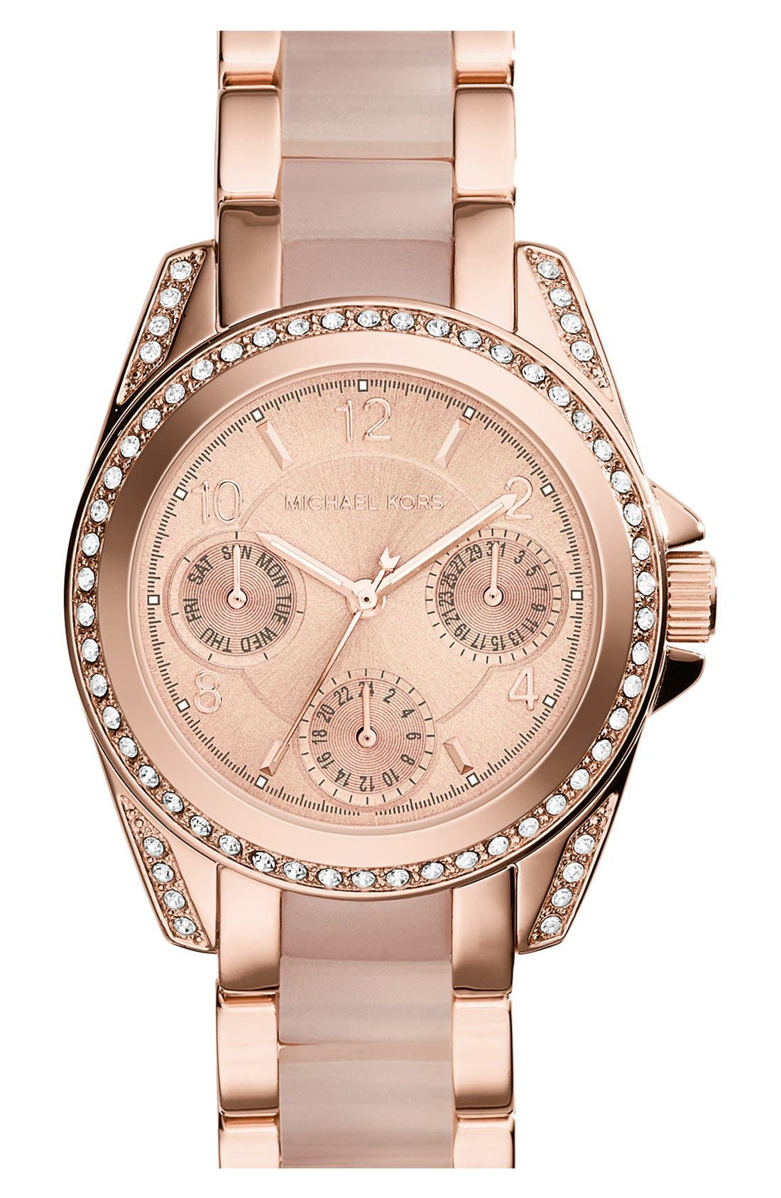Main Image - Michael Kors'MiniBlair' Multifunction Bracelet Watch, 33mm