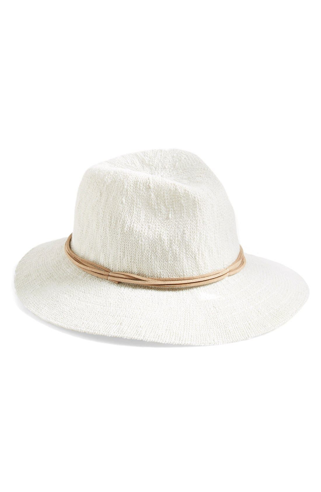 Treasure & Bond Slub Knit Panama Hat