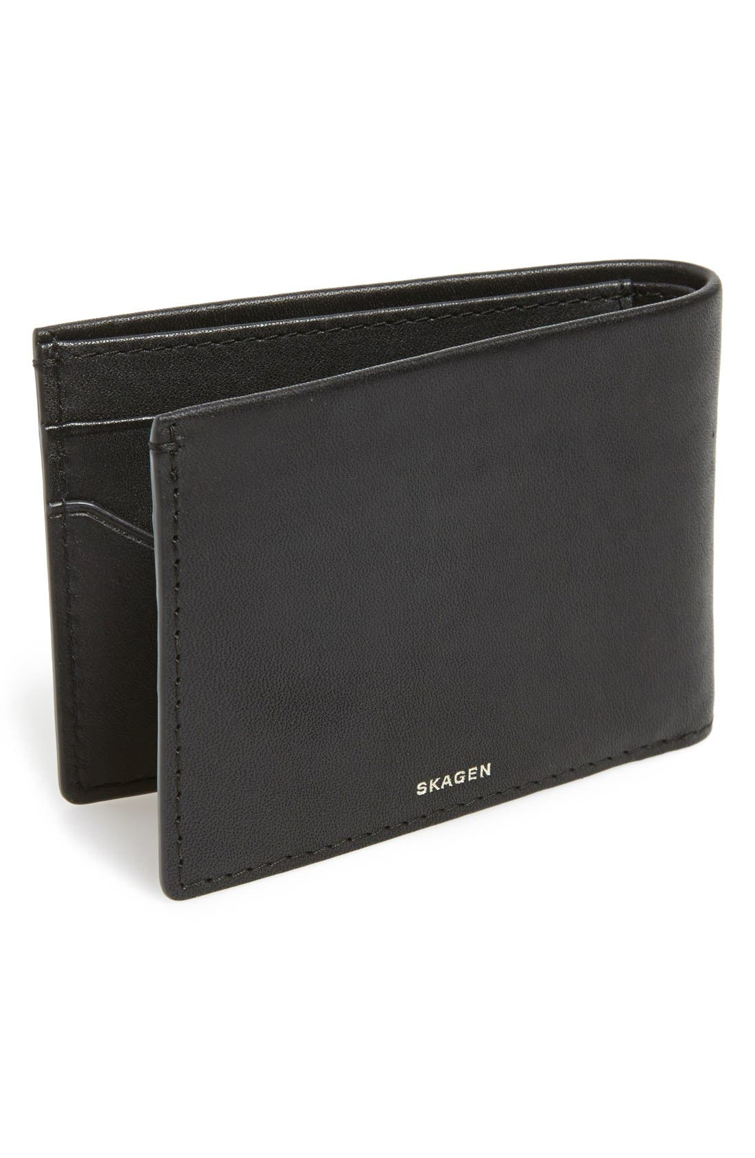 Alternate Image 2  - Skagen'Ambold' Leather Wallet
