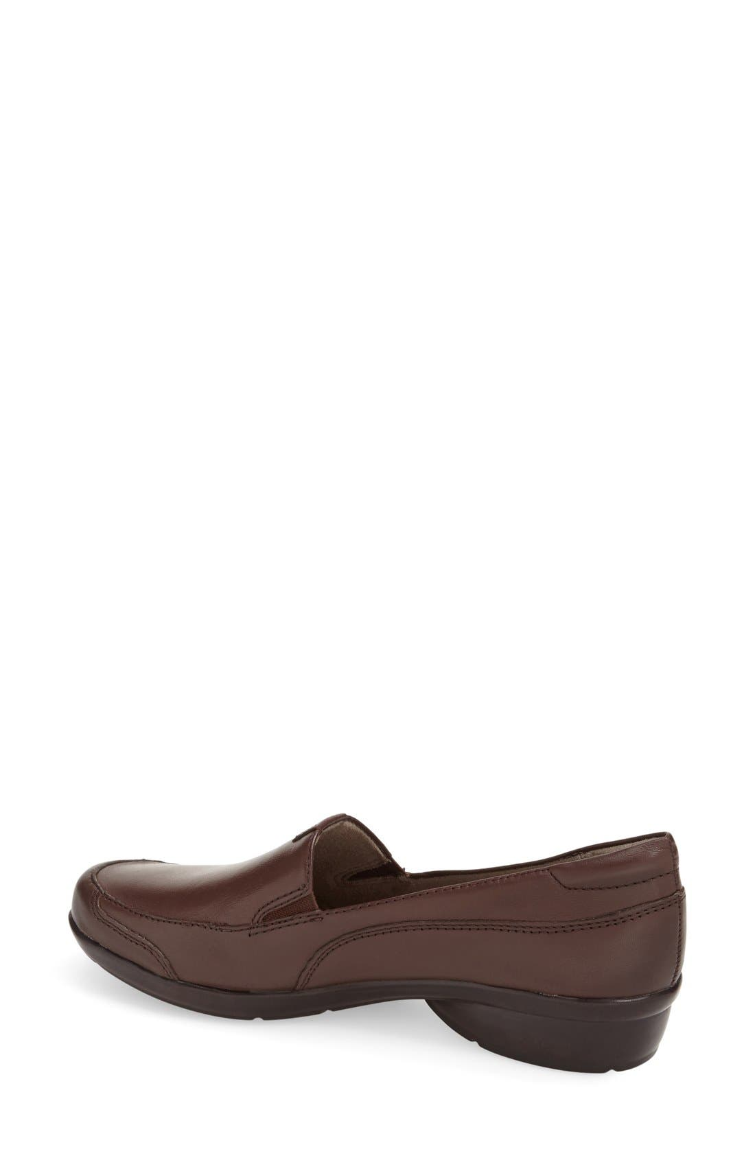 'Channing' Loafer,                             Alternate thumbnail 2, color,                             Bridal Brown