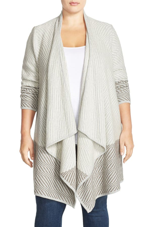 Lucky Brand Waterfall Cardigan (Plus Size) | Nordstrom