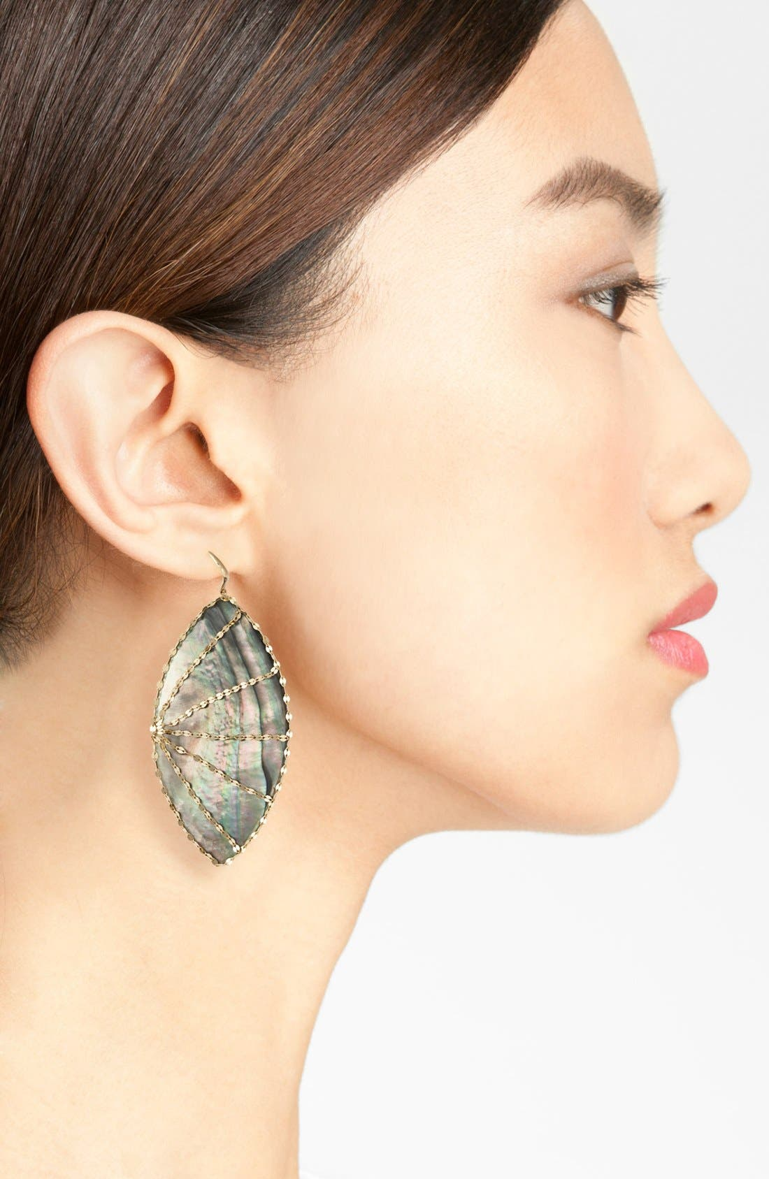 Lana Jewelry 'Mystiq Isabella' Drop Earrings,                             Alternate thumbnail 2, color,                             Black Mother Of Pearl