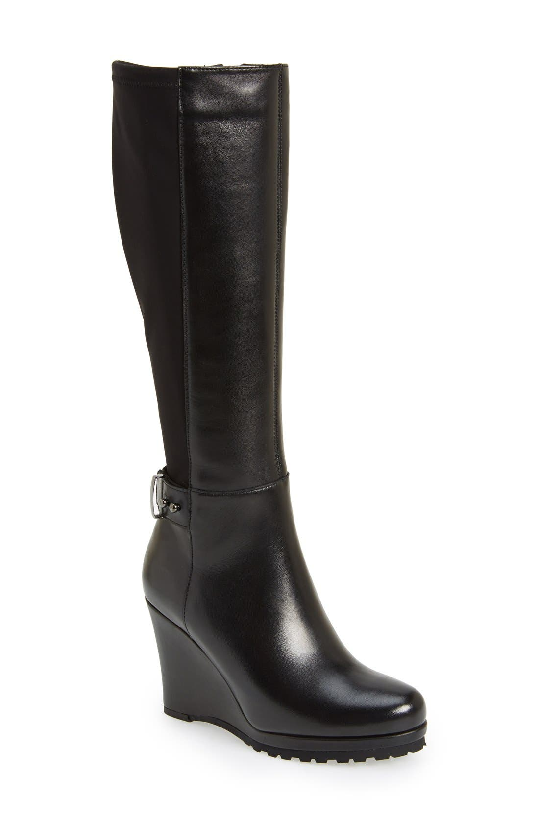 Alternate Image 1 Selected - VANELi 'Jaylene' Stretch Back Wedge Boot (Women)