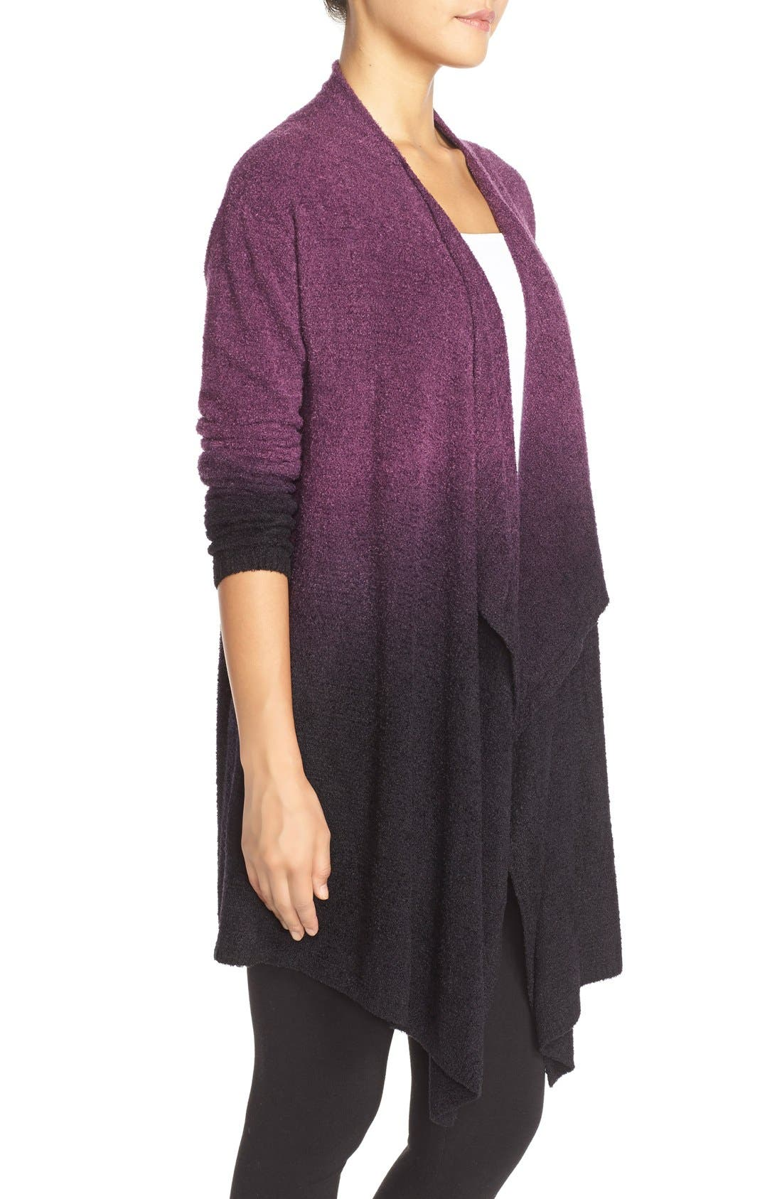 Alternate Image 3  - Barefoot Dreams® CozyChic Lite® Calypso Wrap Cardigan (Nordstrom Exclusive)