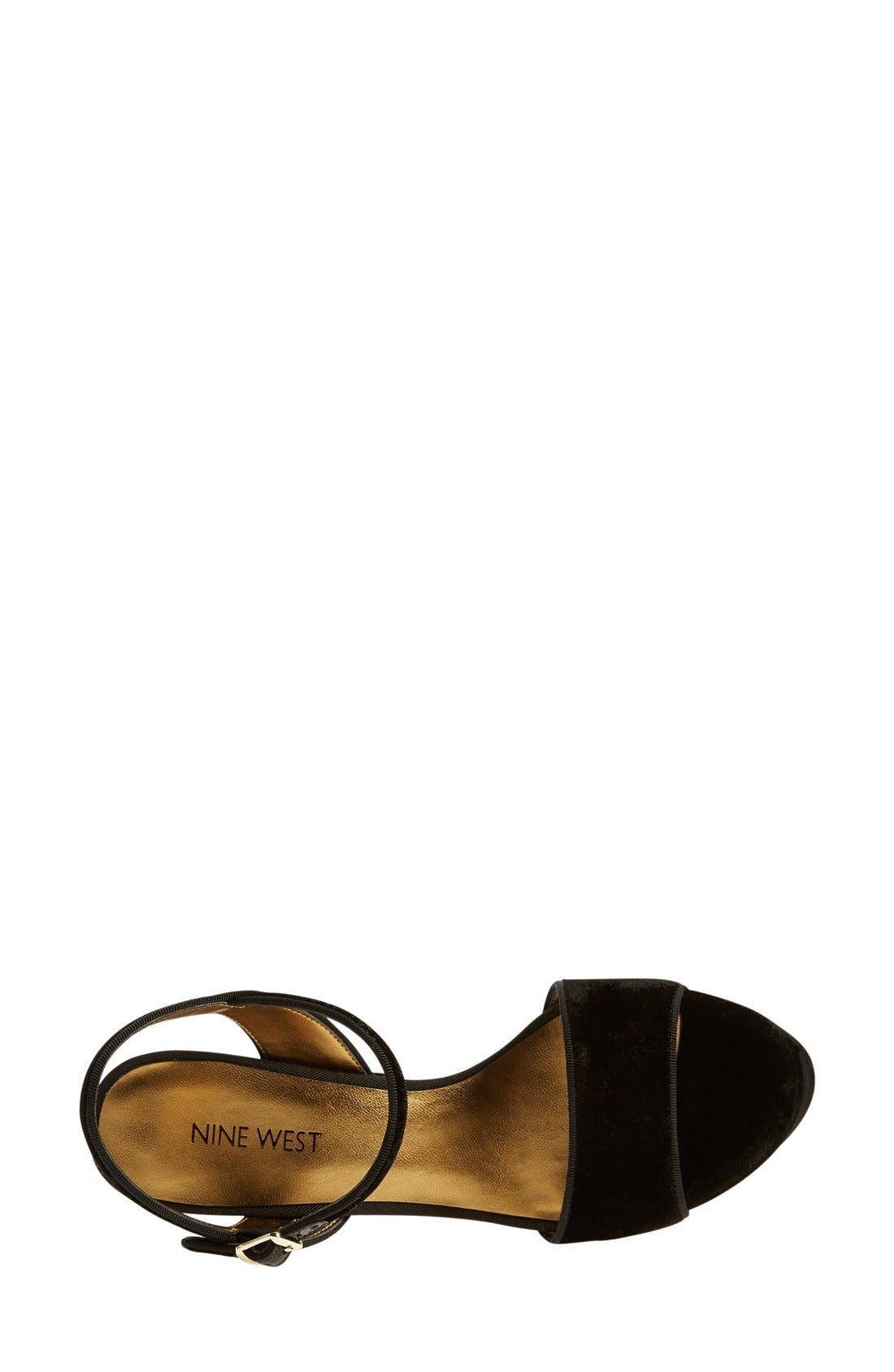 Alternate Image 5  - Nine West 'Carnation' Platform Sandal (Women)