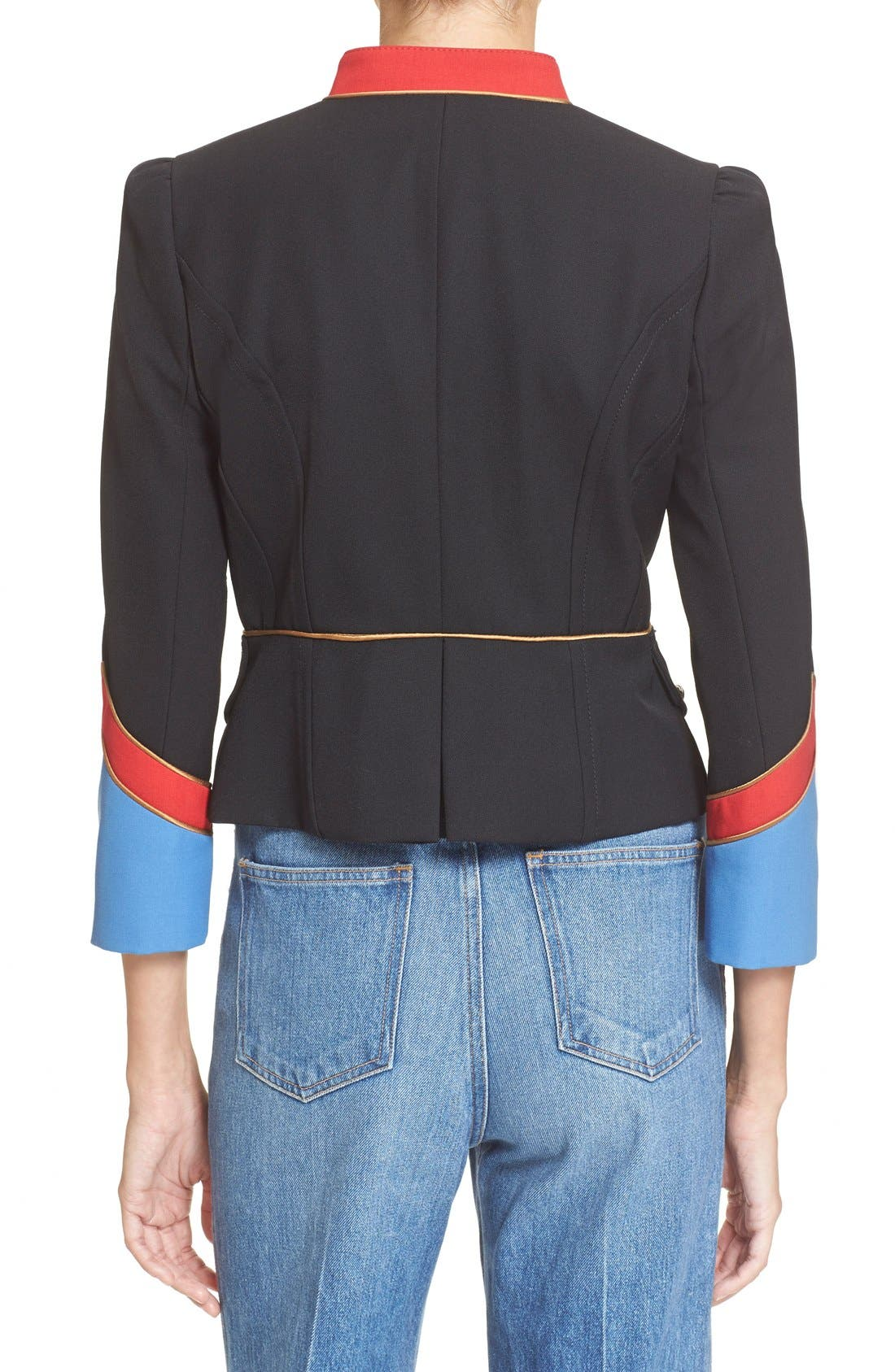 Alternate Image 2  - MARC BY MARC JACOBS Gabardine Military Jacket