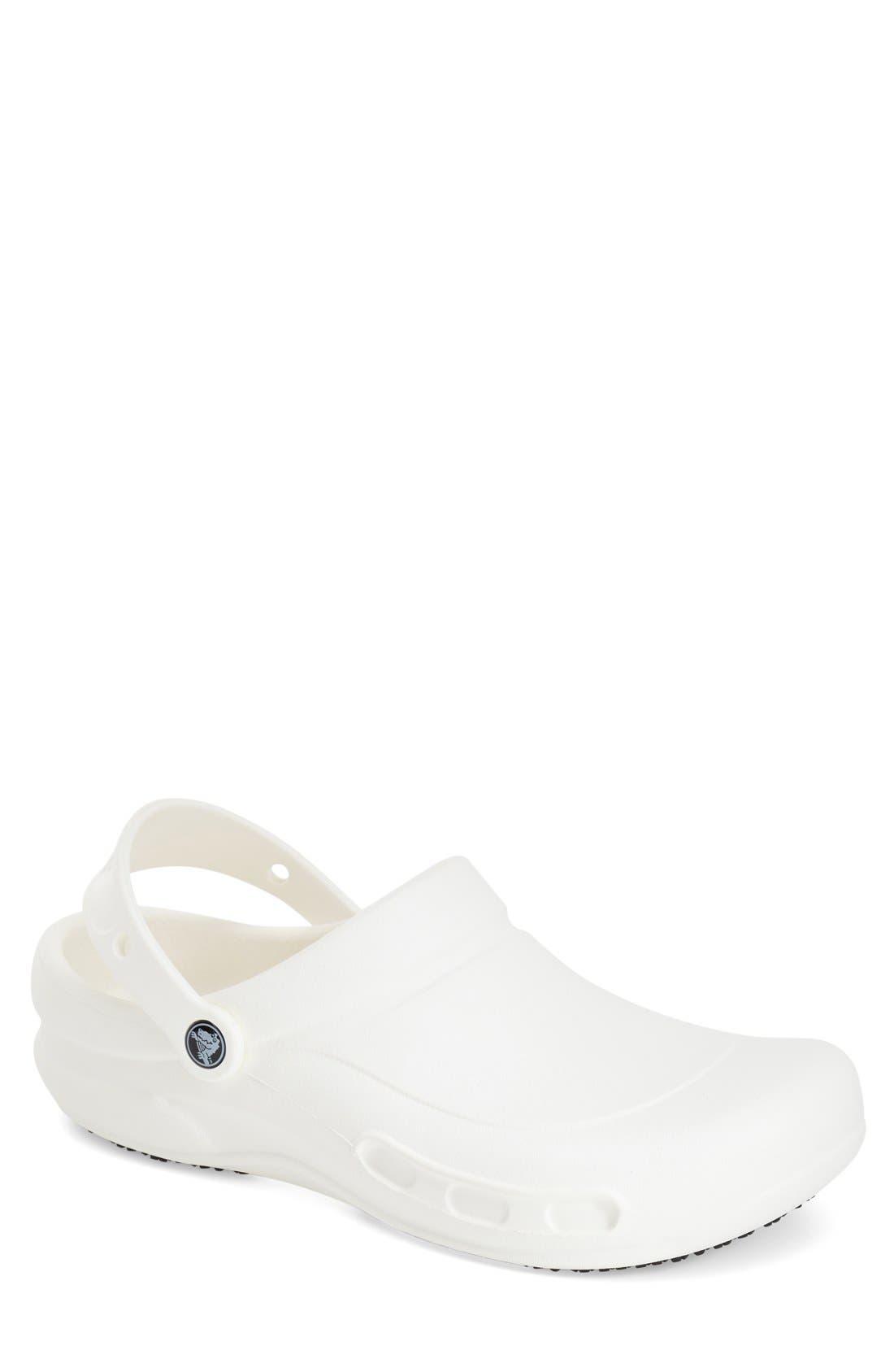 'Bistro' Clog,                         Main,                         color, White