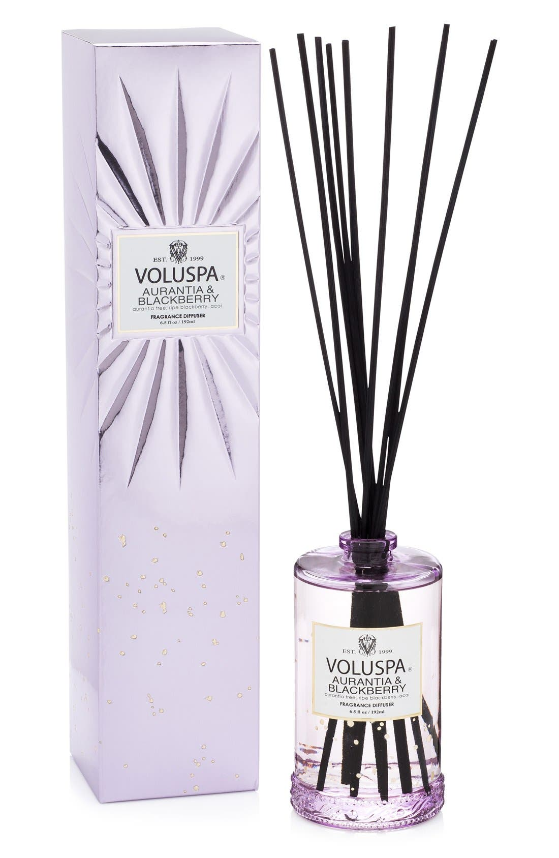 Alternate Image 1 Selected - Voluspa Vermeil - Aurantia & Blackberry Home Ambience Diffuser