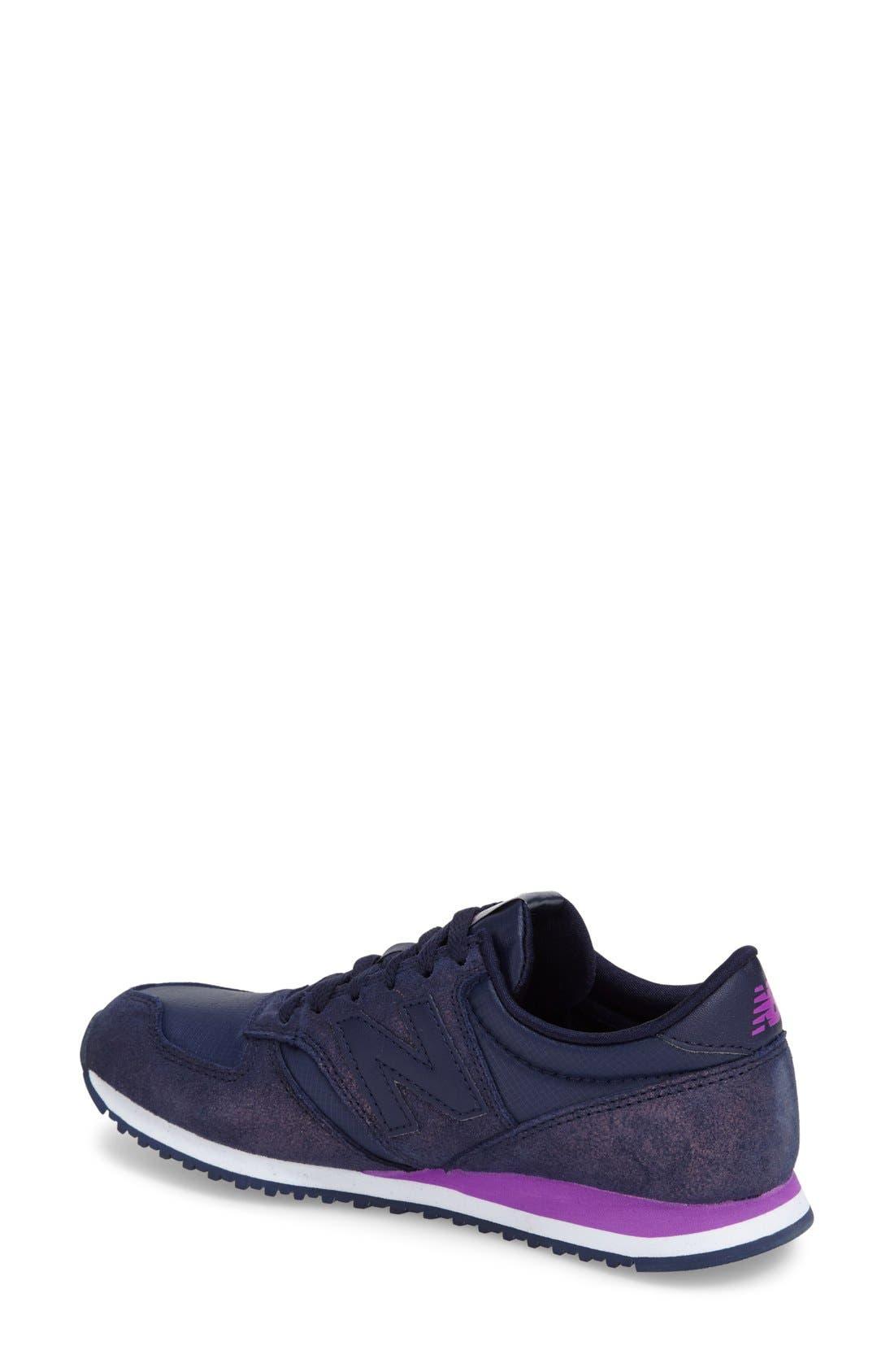 '420' Sneaker,                             Alternate thumbnail 2, color,                             Dark Purple