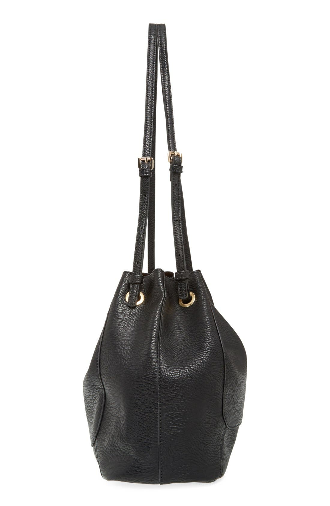 Alternate Image 5  - Street Level Faux Leather Shoulder Bag