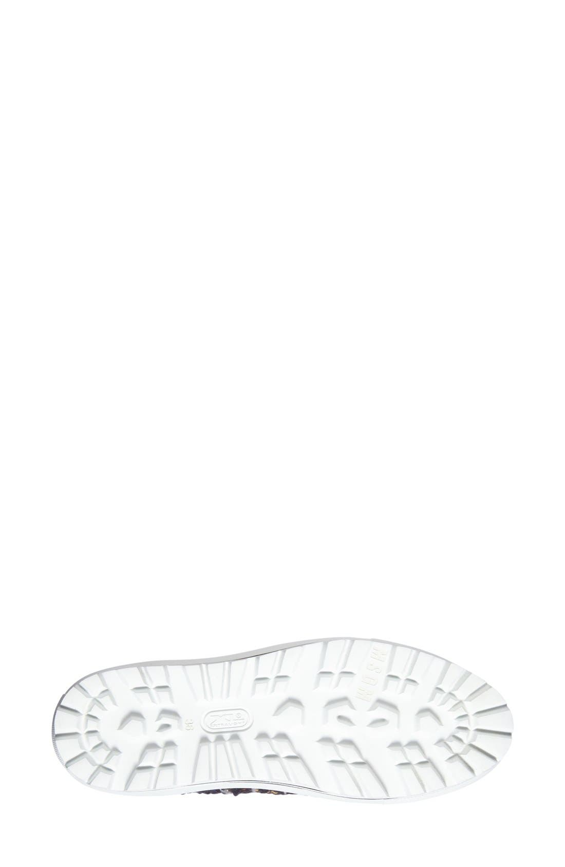 Alternate Image 4  - MSGM Tweed Platform Slip-On Sneaker (Women)