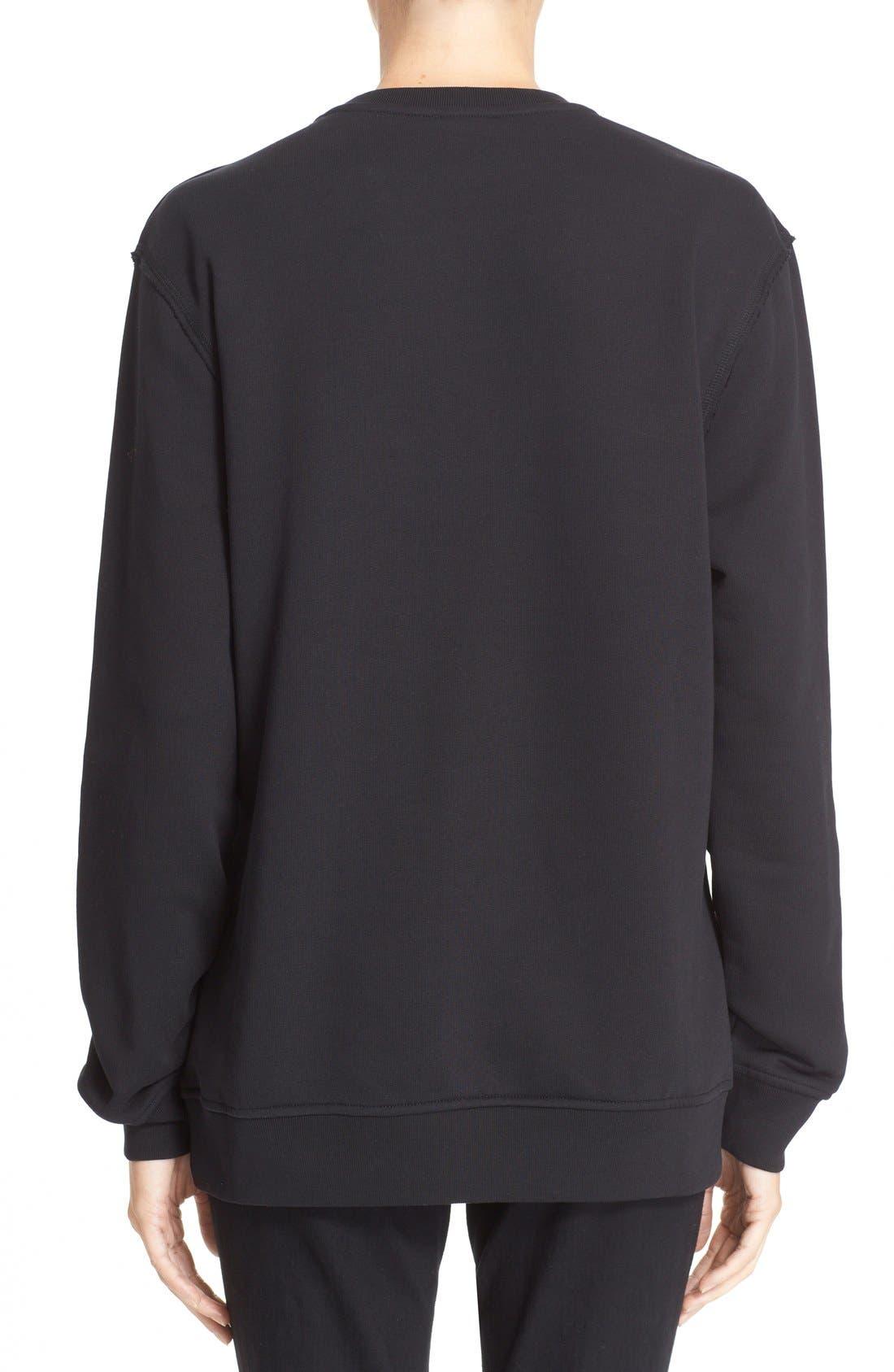 Alternate Image 2  - McQ by Alexander McQueen Oversized Graphic Sweatshirt