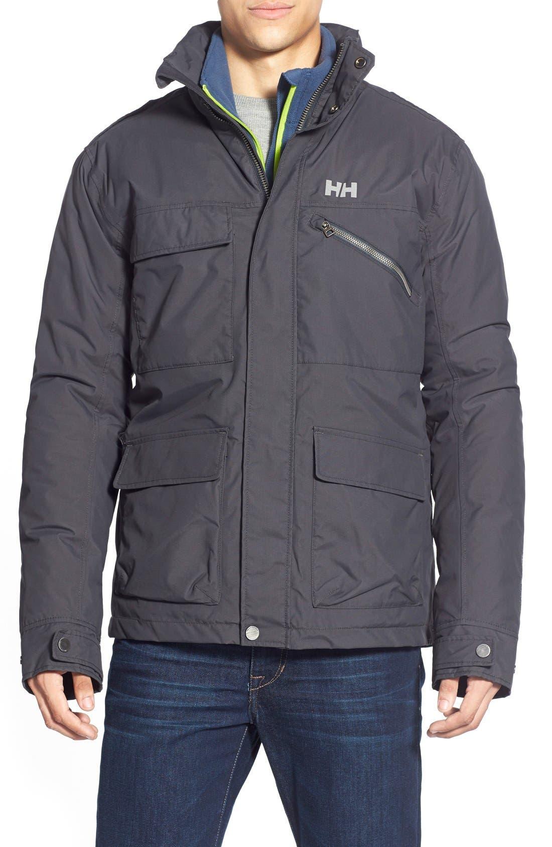 Alternate Image 1 Selected - HellyHansen 'Universal' MotoRain Jacket