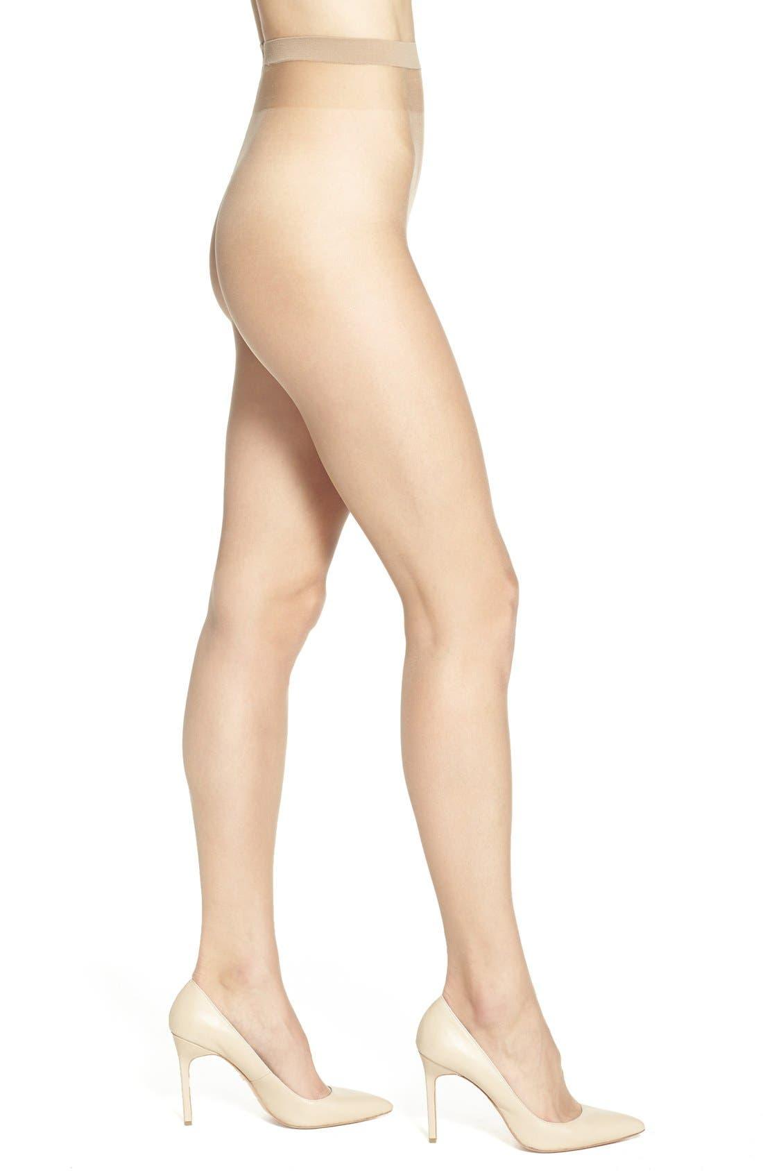 Naked 8 Pantyhose,                         Main,                         color, Caramel