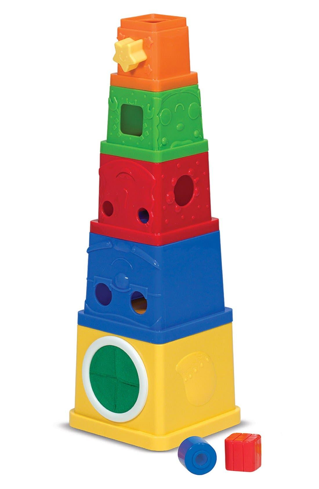 Stacking Blocks,                         Main,                         color, Brown