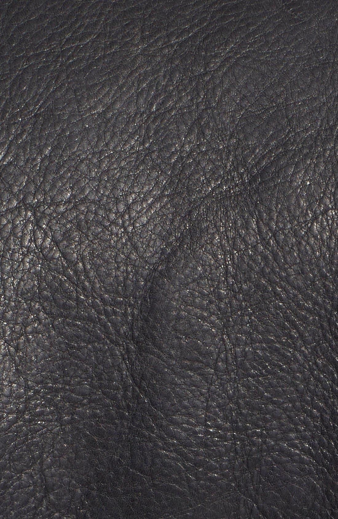 Alternate Image 5  - Schott NYC Perfecto Slim Fit Waxy Leather Moto Jacket