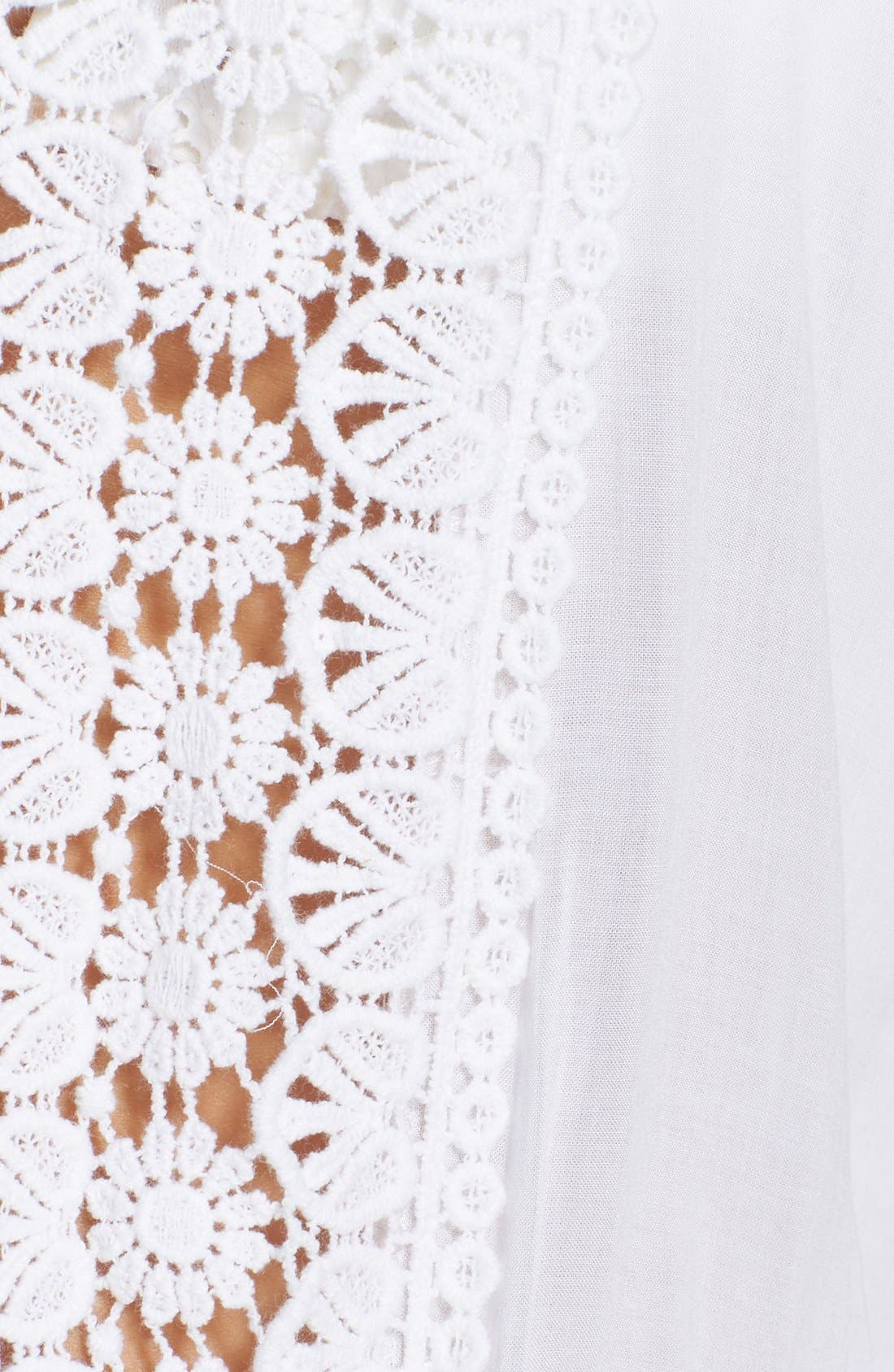 Alternate Image 5  - La Blanca 'Costa Brava' Crochet Cover-Up Kimono