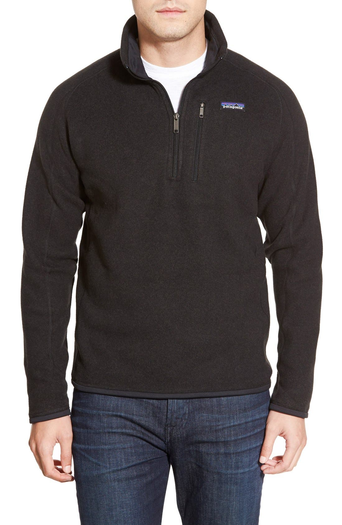 Patagonia 'Better Sweater' Quarter Zip Pullover