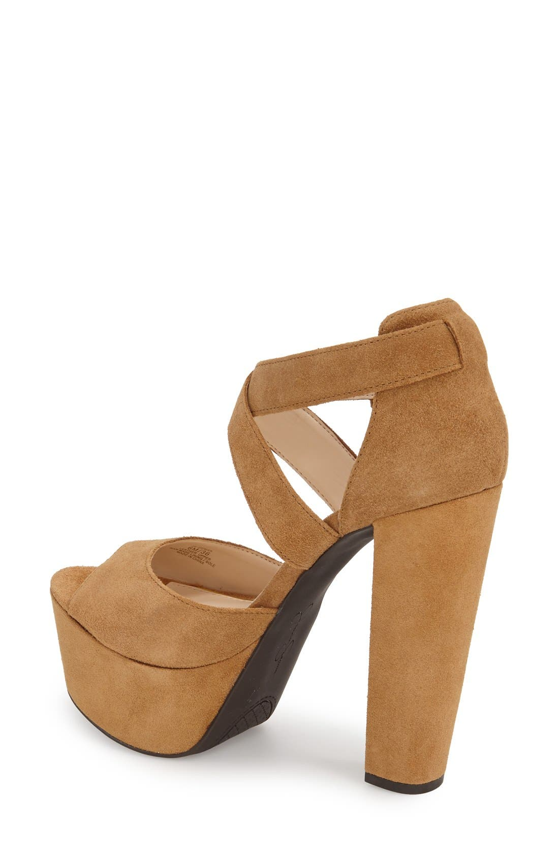 Alternate Image 2  - Jessica Simpson 'Derian' Platform Sandal (Women)