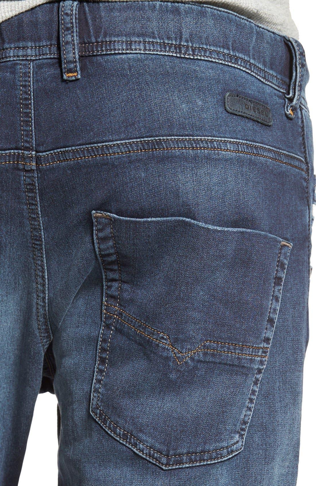 Alternate Image 4  - DIESEL® Krooley Jogg Slouchy Slim Jogger Jeans (848K)