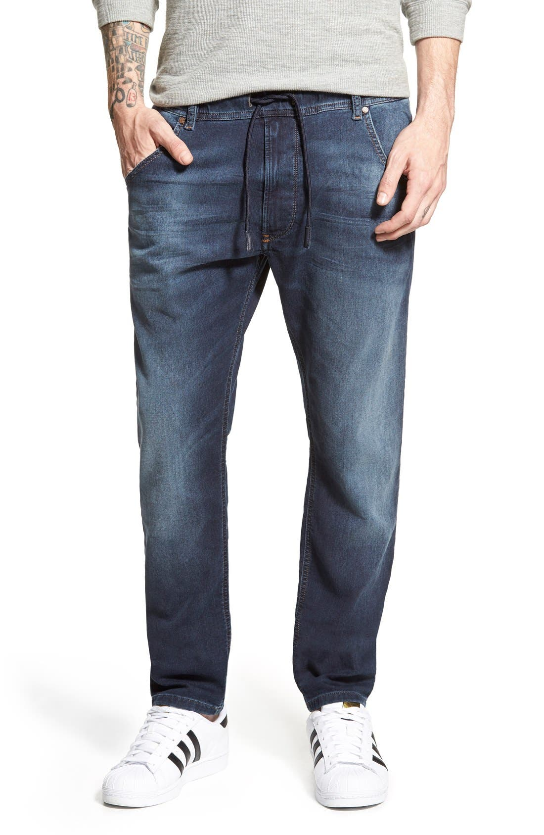 DIESEL<SUP>®</SUP> Krooley Jogg Slouchy Slim Jogger Jeans