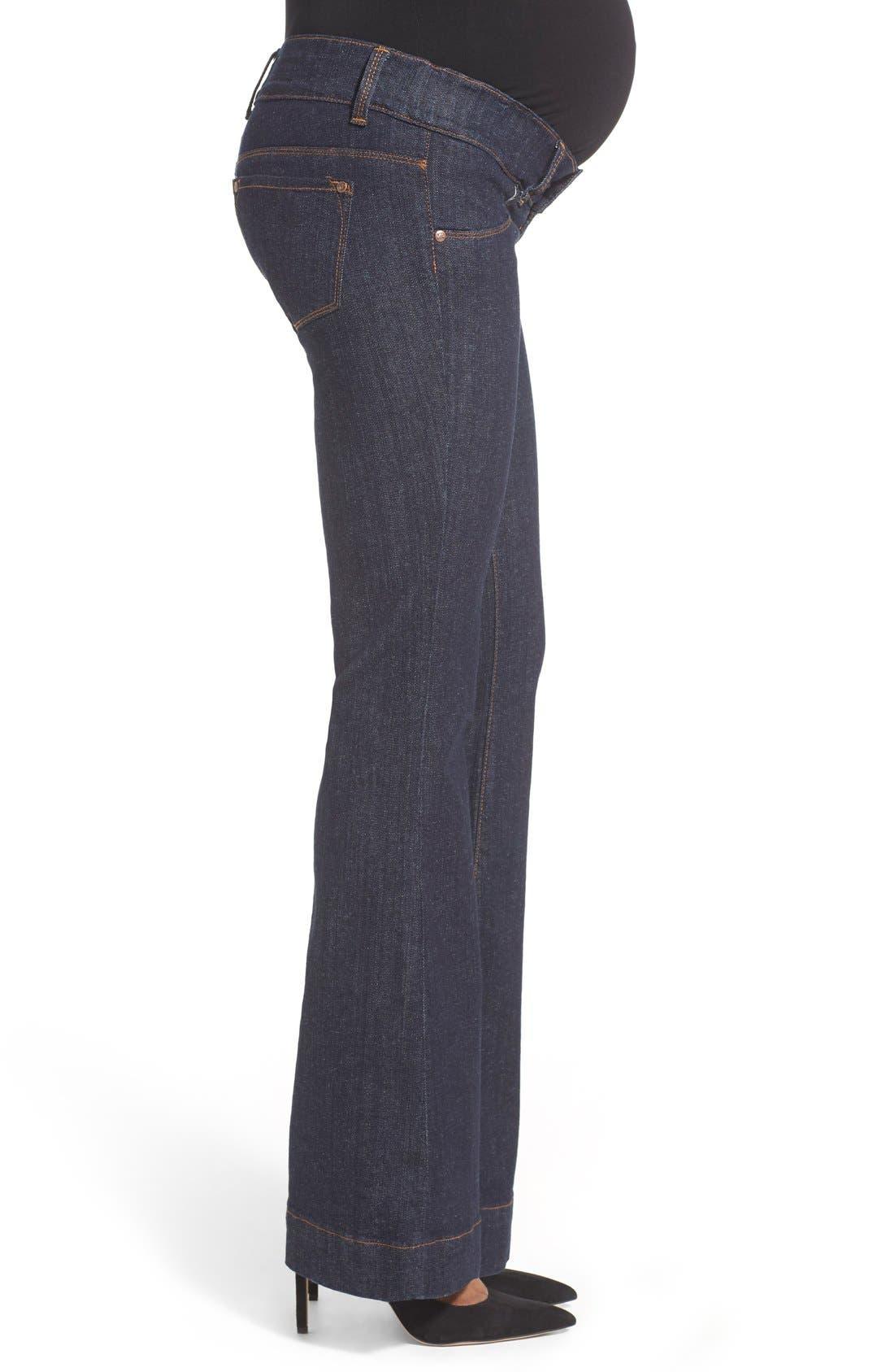 Alternate Image 2  - Maternal America Bootcut Stretch Maternity Jeans