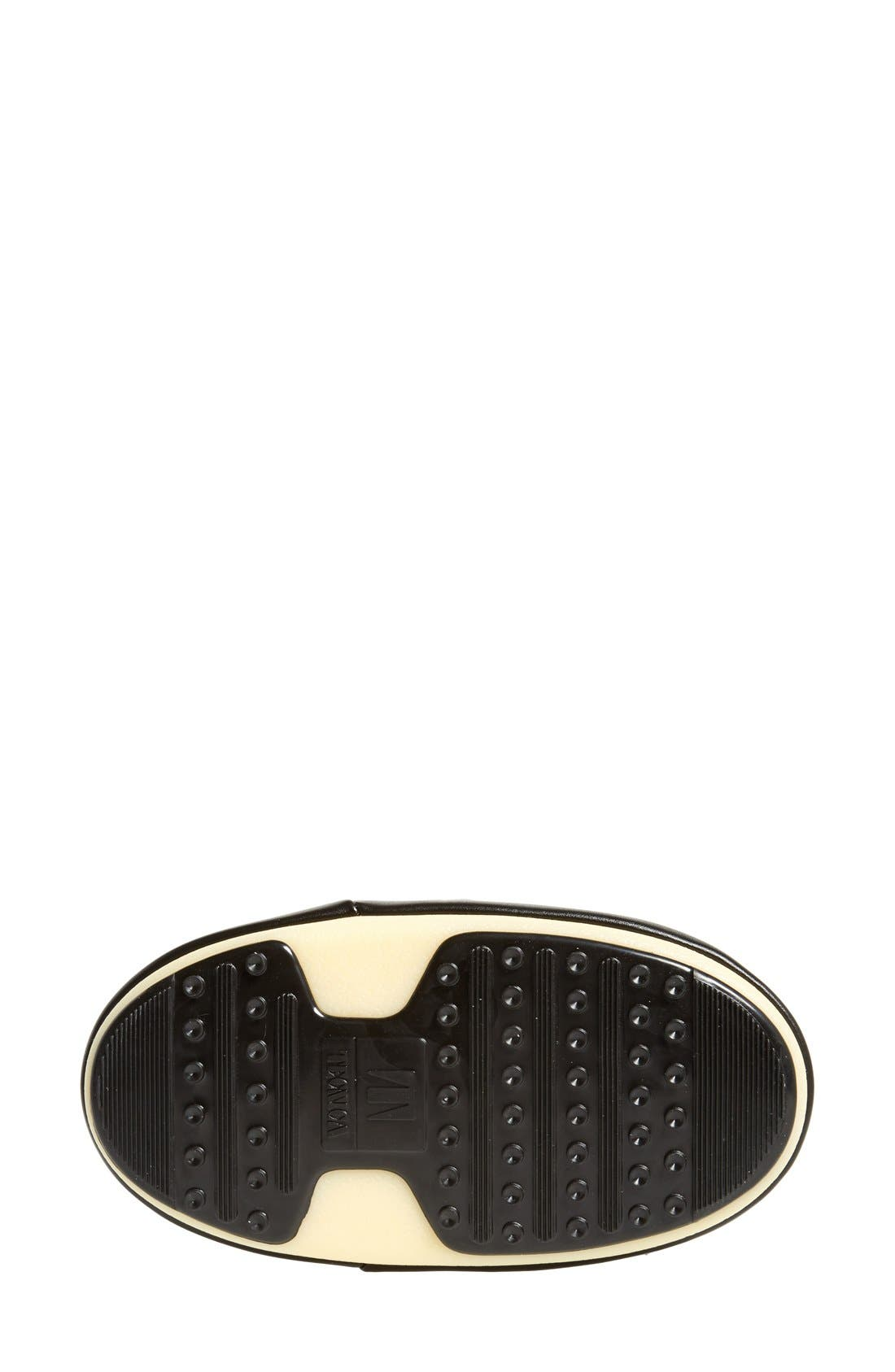 'Original' Moon Boot<sup>®</sup>,                             Alternate thumbnail 4, color,                             Black