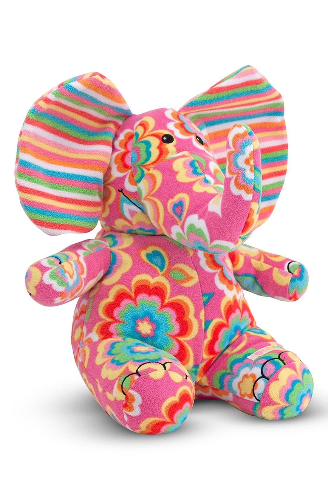'Beeposh - Sally Elephant' Plush Toy,                             Main thumbnail 1, color,                             Pink